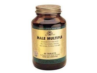 Bote de Solgar Male Múltiple60 Comprimidos