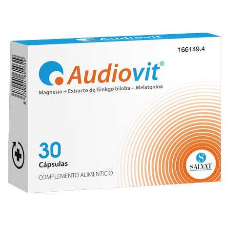 Audiovit Salvat, 30 Cápsulas.