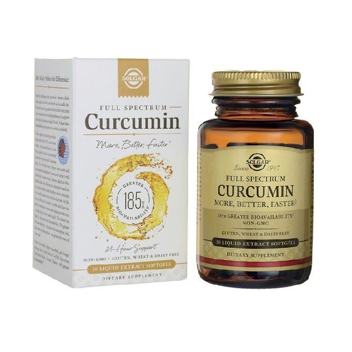 SolgarFull Spectrum Curcumin, 30 Capsulas