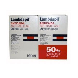 Lambdapil Cápsulas Anticaída. Lambdapil capsulas isdin anticaida