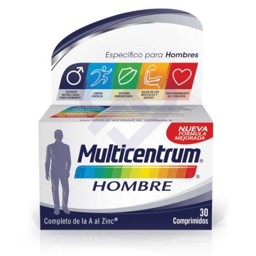 Caja de Multicentrum Hombre, 30 Comprimidos
