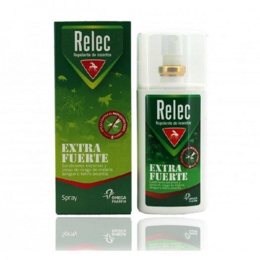 Caja y Spray de Relec Extra Fuerte 75 ml