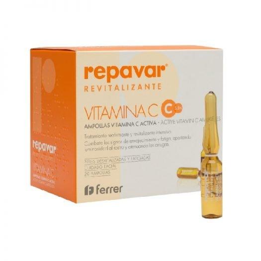 Repavar revitalizante ampollas vitamina c