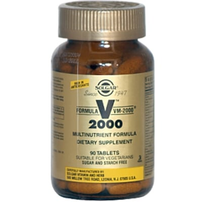 Solgar Formula VM 2000 90 Cápsulas