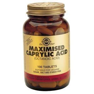 Solgar Ácido Caprílico Maximizado, 100 Comp.