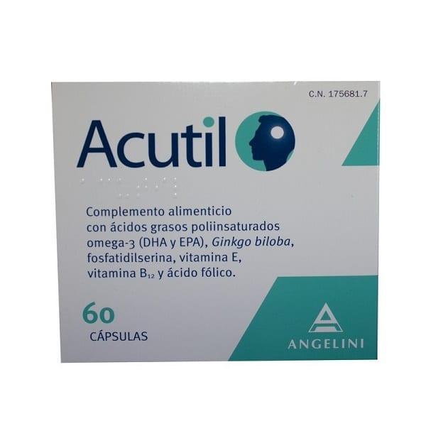 Acutil Cápsulas, 60 uds