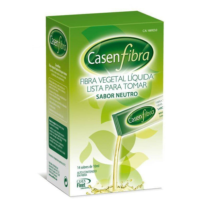 Casen Fibra Vegetal Liquida 14 Sticks