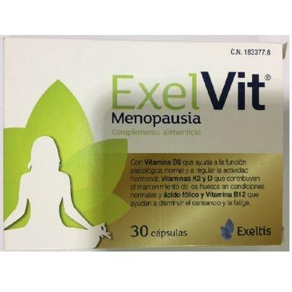 Exelvit Menopausia, 30 Caps.