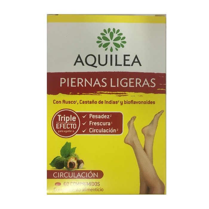 Aquilea Piernas Ligeras 60 Comprimidos | Solución a
