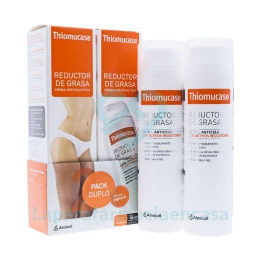 Duplo Thiomucase Crema Anticelulítica, 2 x 200 ml