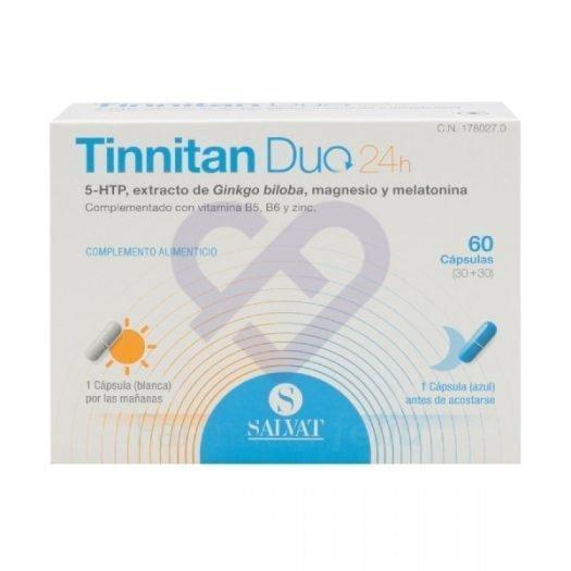 Caja de Tinnitan Duo, 60 cápsulas
