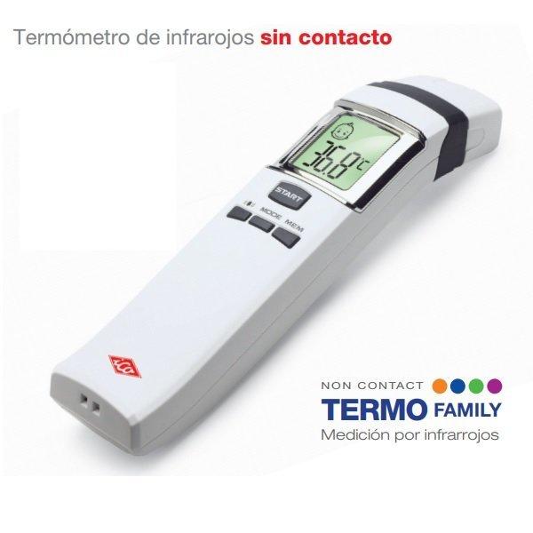 ICO Termofamily, Termómetro Infrarrojos Sin Contacto