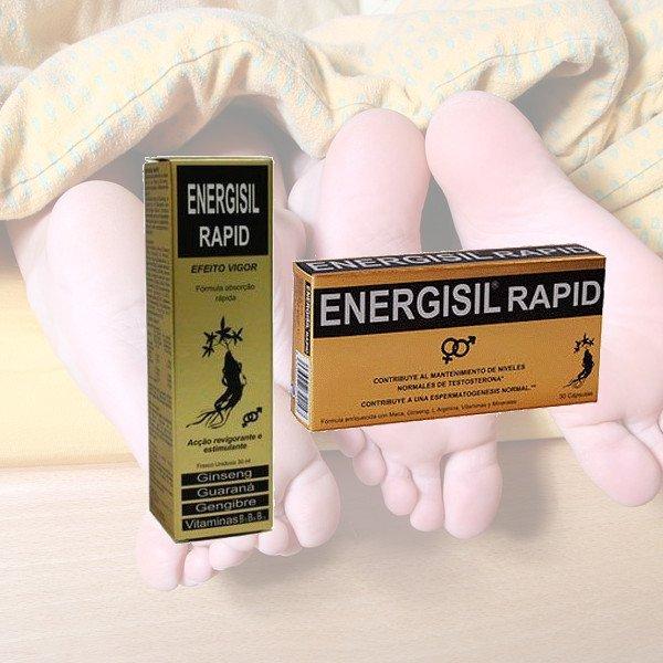 Energisil Rapid de Pharma OTC