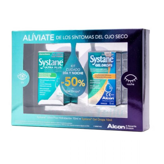 Systane Ultra Plus y Gel Drops Kit