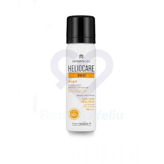 Bote de Heliocare 360 Airgel Spf 50+Facial 60 ml