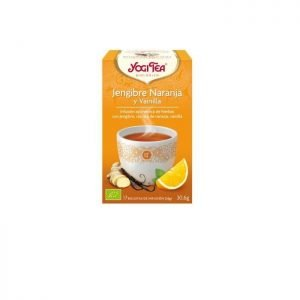 Yogi tea jenjibre naranja y vainilla