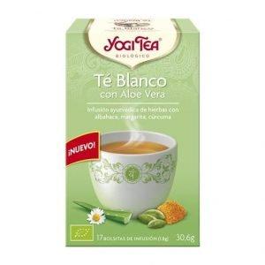 Yogi tea te blanco con aloe vera
