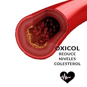 OxicolPlus Omega para colesterol y cuidado del corazon