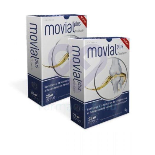 Dos cajas de Movial Plus