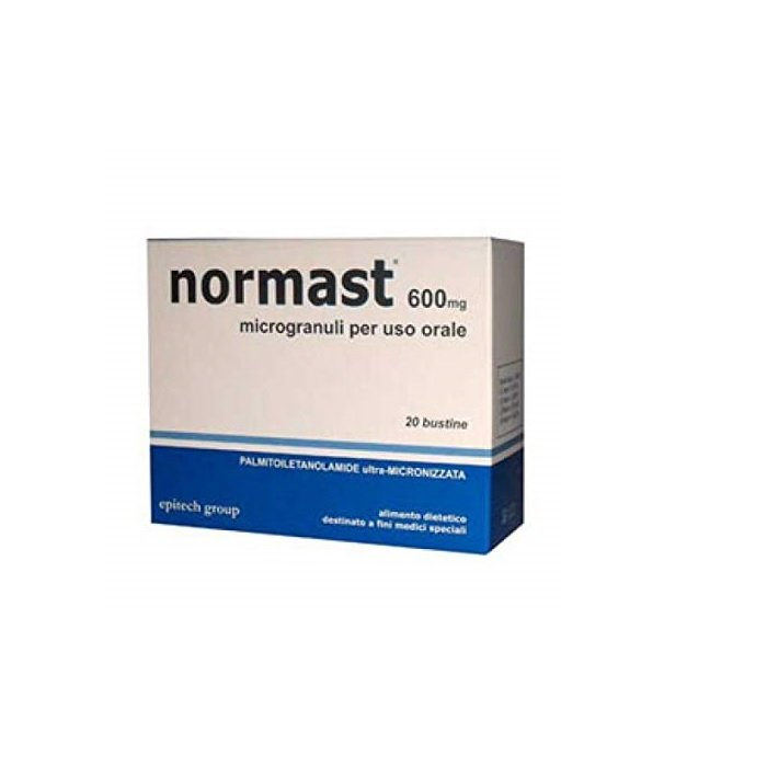 Normast 600 mg 20 sobres
