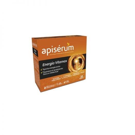 Caja de Apiserum Vitamax, 18 Viales