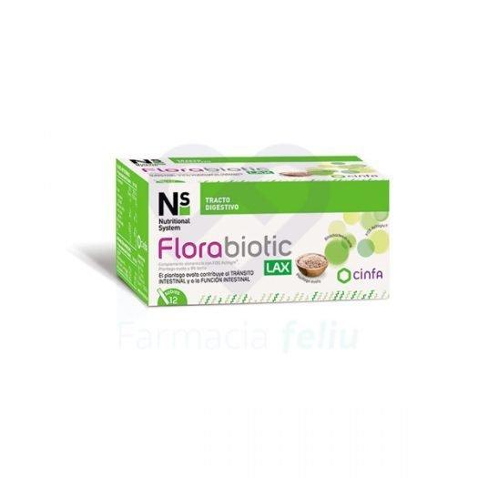 Caja de Florabiotic Lax, 12 Sobres