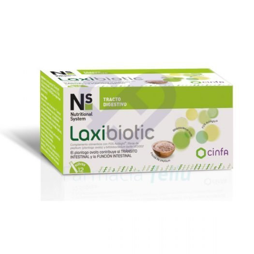 Caja de Laxibiotic 12 Sobres