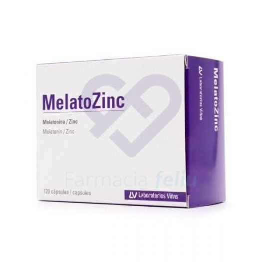 Caja de Melatozinc 120 cápsulas