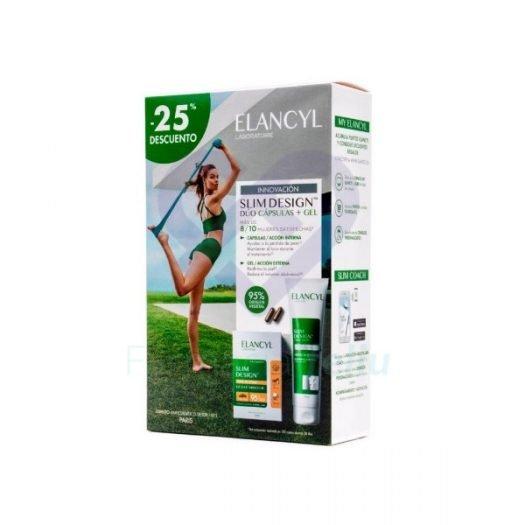 Pack Elancyl para la Celulitis Pastillas y Gel