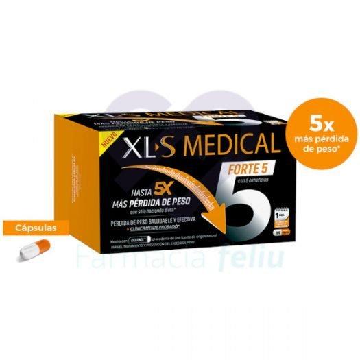 Caja de 180 Capsulas de XLS Medical Forte