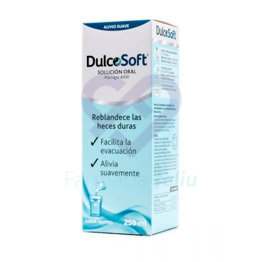 Caja de Dulcosoft Líquido 250 ml