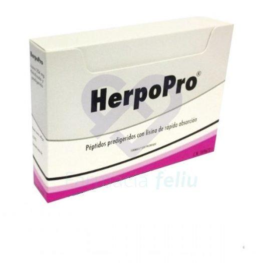 Caja de 6 sobres de HerpoPro