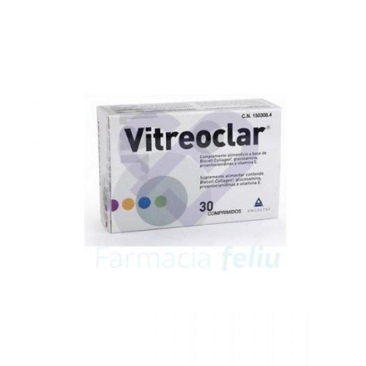 Vitaminas para la vista vitreoclar
