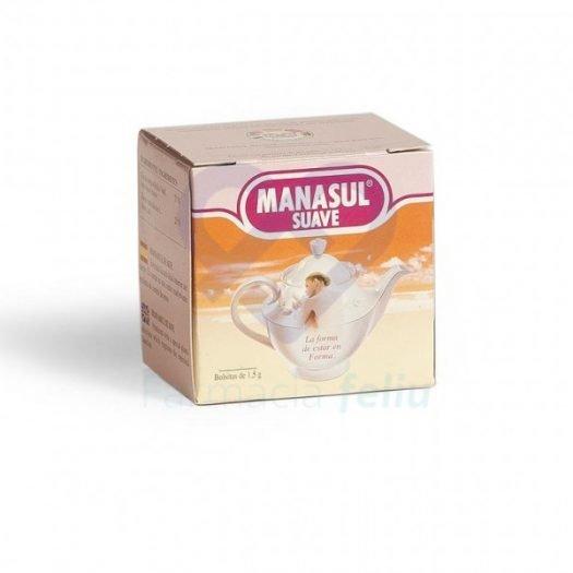 Caja de infusiones de Manasul Suave
