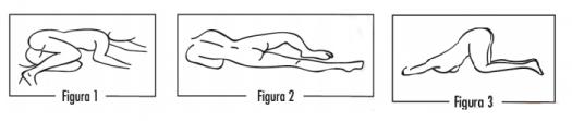 Posición para aplicación enema rectal