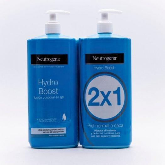 Duplo Neutrogena Hydro Boost Loción Corporal Hidratante en Gel 750 ml