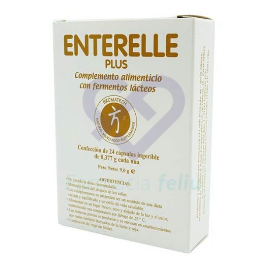 Enterelle Plus 24 Cápsulas