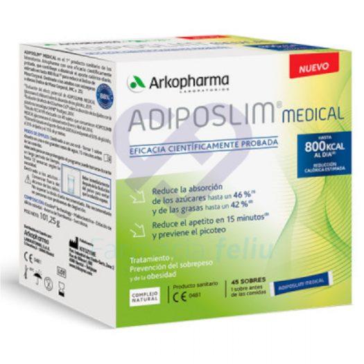 Adiposlim Medical 45 sobres para la prevención de la obesidad