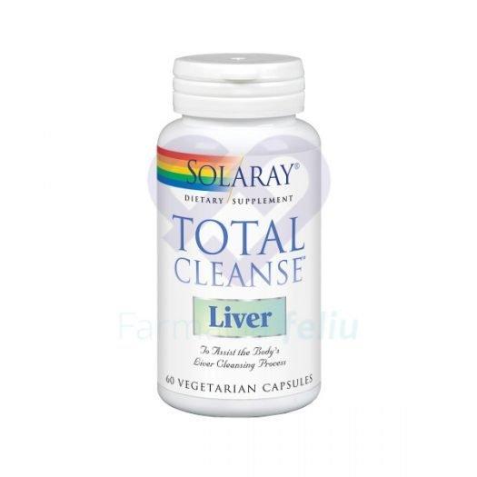 Oferta Solaray Total Cleanse Liver, 60 Capsulas