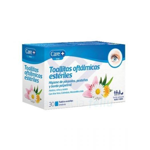 CarePlus Toallitas Oftálmicas Estériles, 30 Uds