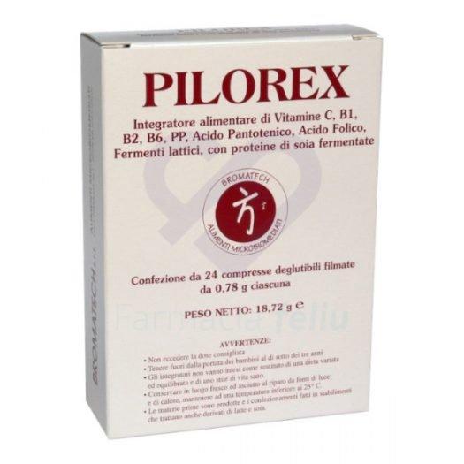 Pilorex 24 cápsulas