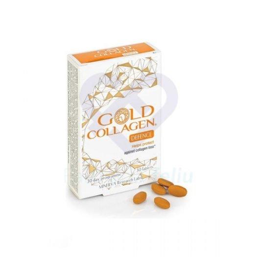 Caja de Gold Collagen Defence, 30 Comprimidos