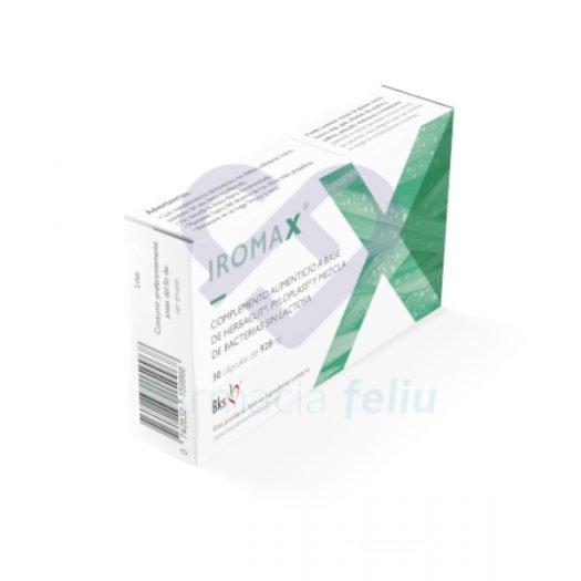 Iromax, 30 Cápsulas