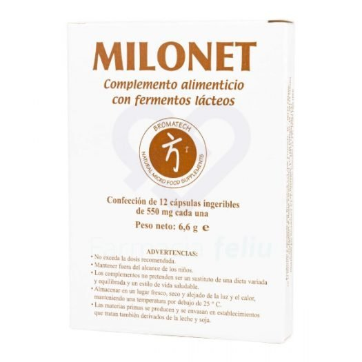 Milonet, 12 Cápsulas