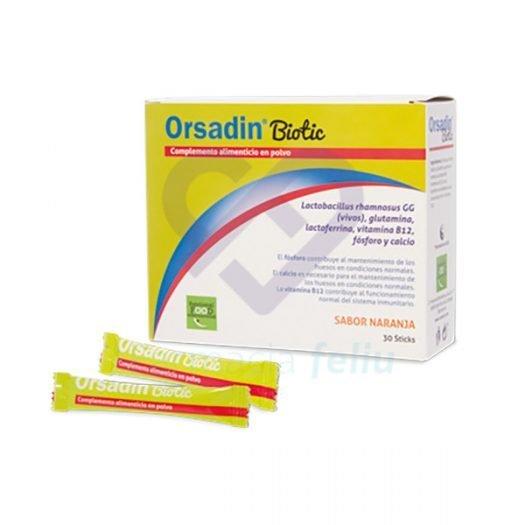 Orsadin Biotic, 30 Sticks Sabor Naranja