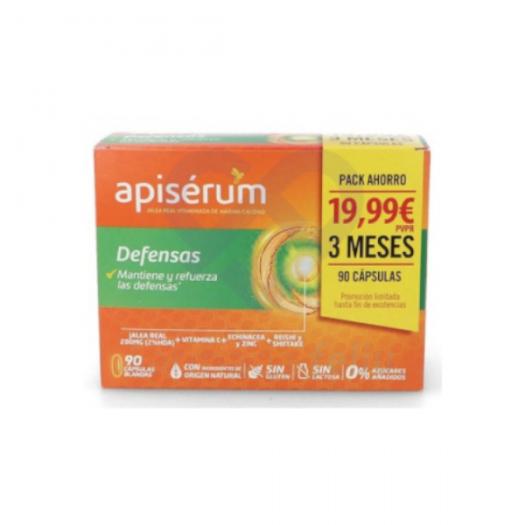 Caja de la Promo Apiserum Defensas Pack 3 Meses
