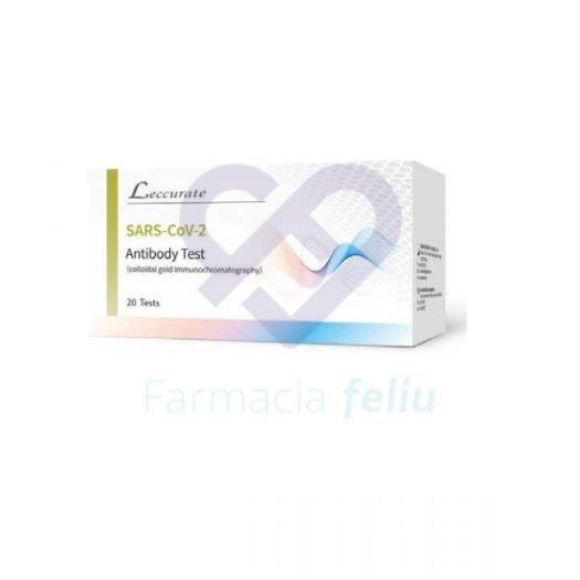 Caja de Test Anticuerpos Coronavirus Sars Cov 2, 20 Uds.