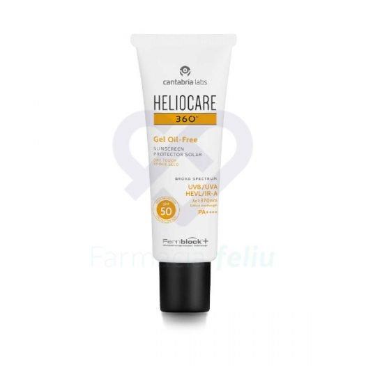 Bote de Heliocare 360 Gel Oil Free SPF 50, 50 ml