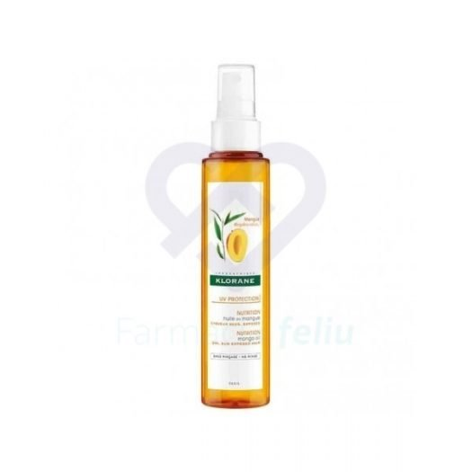 Spray nutritivo Klorane Aceite de Mango 125 ml