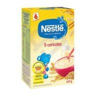 Caja de 600 gr de Nestlé Papilla 5 Cereales